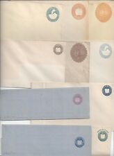SALVADOR 1890s 1900 COLLECTION OF 10 DIFFERENT POSTAL COVER & WRAPPERS ALL MINT
