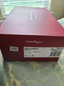 Salvatore Ferragamo 'Biliardo' Bit Loafer - Black Pebbled Leather - 11.5 D