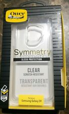 Samsung Galaxy S9 Case OtterBox Symmetry Sleek Protection Clear Series NEW