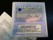 HYBRID ARTS INC MIDIPATCH CASIO CZ SOFTWARE FOR COMMODORE NEW OLD STOCK
