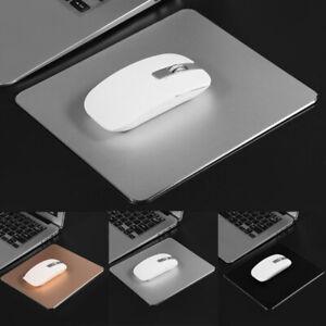 Aluminum Alloy Mouse Pad Anti-slip Mousepad Gaming Mice Mat for Computer