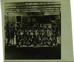 Boy Scout Troop FOUND NEGATIVE Vintage B & W Photo Original Portrait N 011 16 F