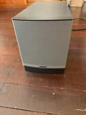 Bose Companion 3 Series ll Multimedia Black Speaker - Untested - Speaker Only!