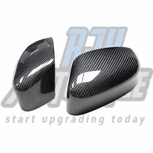 Ford Focus Mk3 & 3.5 Carbon Fibre Wing Mirror Caps (genuine Carbon)