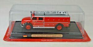 DelPrado 1952 Magirus Deutz RKW7 650 Fire Truck 1:72 Scale Mint/Unopened Box