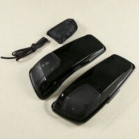 Saddlebag Lids Speaker Cutouts Fit For Harley Davidson Electra Road Glide 14-20