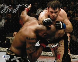 Forrest Griffin Signed 8x10 Photo BAS COA UFC 86 2008 Rampage Jackson Picture 1