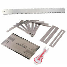 Guitar Neck Notched Straight Edge Luthier Tools Understring Radius Gauge L020