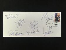 PARENT DORNHOEFER DUPONT GOODENOUGH NOLAN BARBER CLEMENT AUTOD ENVELOPE W/COA