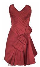 New KAREN MILLEN Red Strapless Prom Party Dress Dress Bow BNWT Size 16 DH088