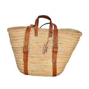Palm Leaf Taza Backpack, Straw Bag Made, Shopping and Picnic Baskets, Traditiona