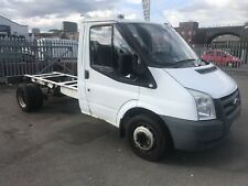 FORD TRANSIT T350 MWB 2.4 TDCI CHASSIS CAB TIPPER DROPSIDE