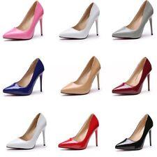 Women's Stiletto Sexy High Heels Pointed Toe Pumps Dress Nightclub Wedding Shoes
