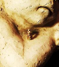 Orig. Pandora Anhänger / Charm / Spacer, Röschen, 14 Karat Gold