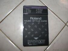ROLAND MUSIC STYLE CARD TN-SC2-06 - CLASSIC