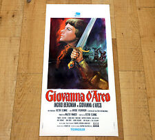GIOVANNA D'ARCO locandina poster affiche Ingrid Bergman Joan of Arc Fleming AD20