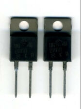 LOT DE 2 x MUR860  DIODES ULTRA-RAPIDES 600 V - 8 AMPERES