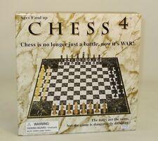 4-Player Ajedrez John N. Hansen: Ajedrez 4 no tradicionales de Ajedrez. cuatro. estratégica
