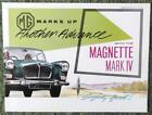 MG MAGNETTE MKIV CAR SALES BROCHURE 1962/63 REF- 62143