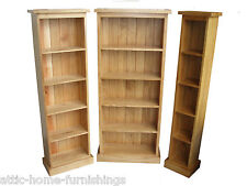 Oakland Solid Oak  DVD and CD Storage Shelf Tower Rack Unit Media 4 Sizes