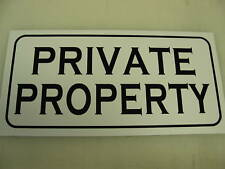 Vintage style PRIVATE PROPERTY Metal Sign Golf Course Farm Rance Hunting Lease