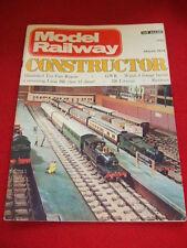 MODEL RAILWAY CONSTRUCTOR - SR LIVERIES - March 1974 Vol 41 # 479