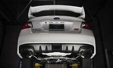 Invidia Dual N1 CatBack Exhaust Burnt Titanium Tips 15-2018 WRX / STi 2014+ FXT