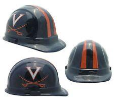 """Virginia """"Cavaliers"""" Ncaa Football Helmet Hard Hat Ansi/Osha Approved"""