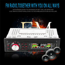 Bluetooth Car Stereo Audio Radio MP3 Player FM SD TF USB AUX Input Single 1 Din