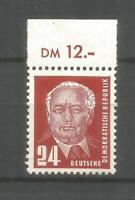 DDR  324vb XI postfrisch  tiefst geprüft Schönherr