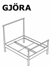IKEA GJÖRA Bed Frame Replacement parts Hardwares for Bed Assembly NEW