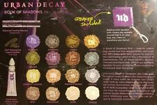 Urban Decay Book of Shadows IV 4 Makeup Kit (New/Boxed)