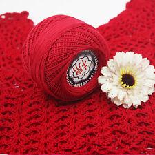 Sale lot of 60g Cobweb Crochet Lace Thread yarn Embroidery knitting 100% cotton