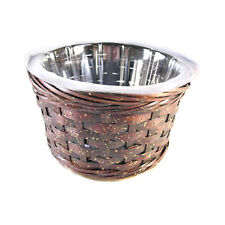 """Case of 24 pcs Wicker FTD """"Stay in Touch"""" Baskets NEW"""