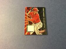 2017 PANINI TREA TURNER SPARKLY JERSEY CARD - #16/25 - NATIONALS