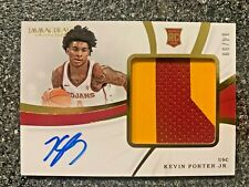 19-20 Panini Immaculate KEVIN PORTER JR RPA Rookie Patch Auto #14/99!