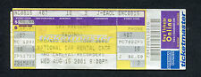Drowned World Tour 2001 Madonna Unused Full Concert Ticket Sunrise FL
