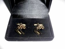 Olympic Games Australian Team ORIGINAL Men's Hockey Cufflinks by Sarah Coventry