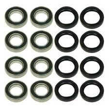 Yamaha Grizzly YFM660 YFM660F 4wd Front and Rear Wheel Bearing Seal Kit - 2002