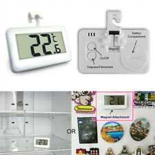 Freezer Fridge Refrigerator  Hook Waterproof LCD Digital Thermometer Chic