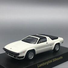 Kyosho Lamborghini Silhouette White 1/64 Scale All Parts Box Mini Car Display