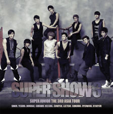 SUPER JUNIOR [SUPER SHOW #3] The 3rd Asia Tour Concert Album K-POP SEALED
