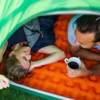 Sleeping Pad Moisture-proof Air Mattress Cushion Outdoor Camp Mat+Inflatable Bag