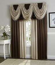 Luxurious Hyatt Window Treatment,window curtain Panel or valance-assorted colors