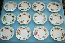 ROYAL ALBERT - FLOWER OF THE MONTH BREAKFAST PLATE - 20.5cm