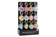 For the Pun of it Keyring - funny image & caption POP285