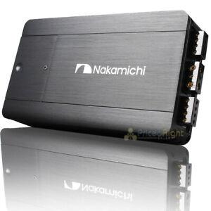 Nakamichi Monoblock Power Amplifier 4 Channel 2500 Watts Max Class D NHMD100.4