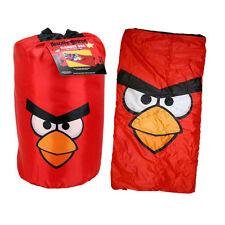 Rovio ANGRY BIRDS RED Indoor Slumber Sleeping Bag For Kids w/ Carry Drawstring