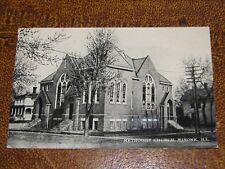US Postcard Used Minonk IL Methodist Church 1911 Postmark