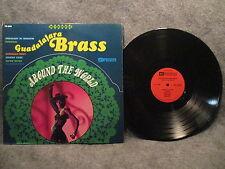 33 RPM LP Record Guadalajara Brass Around The World Premier Records PS 9000 VG+